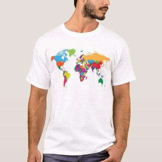Carte du monde t-shirt