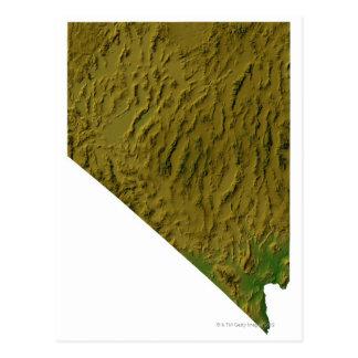 Carte du Nevada Cartes Postales
