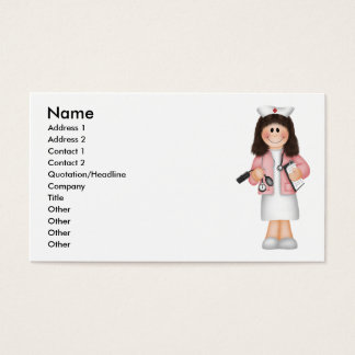 Carte du profil de l'infirmière