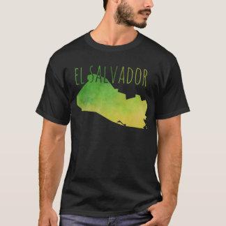 Carte du Salvador T-shirt