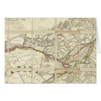 Carte du secteur de Montréal, Canada inférieur