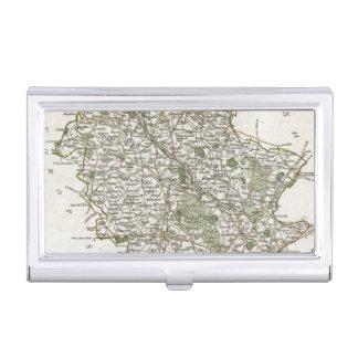 CARTE DU STAFFORDSHIRE, 1793 PORTE-CARTES DE VISITE