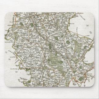 CARTE DU STAFFORDSHIRE, 1793 TAPIS DE SOURIS