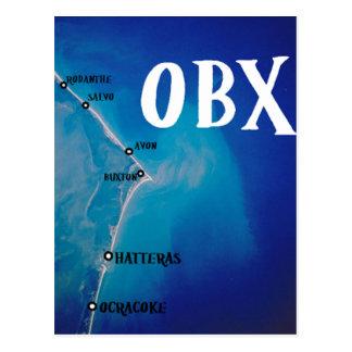 Carte du sud d'OBX Carte Postale