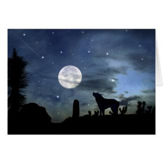 Carte du sud-ouest de Noël de coyote de Natif