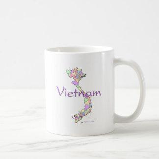 Carte du Vietnam Mug