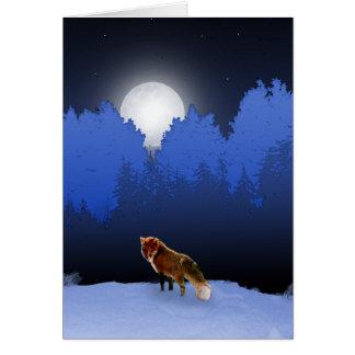 Carte éclairée par la lune de Fox