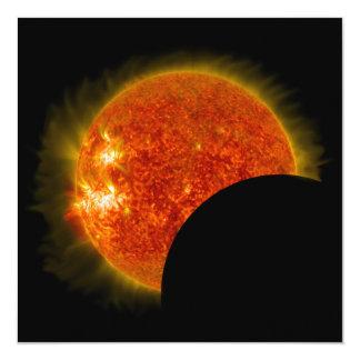 Carte Éclipse solaire en cours