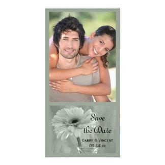 Carte Économies de mariage de marguerite teintées par