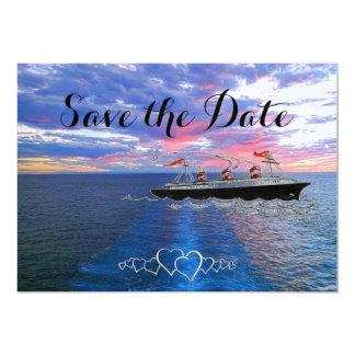 Carte Économies nautiques de la croisière | de mariage