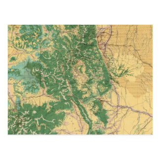 Carte économique du Colorado