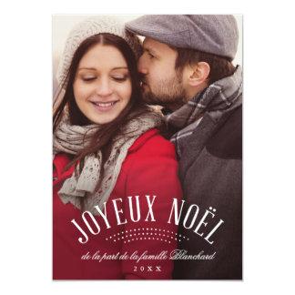 Carte Élégant Joyeux Noël