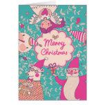 Carte élégante de Joyeux Noël
