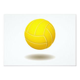 Carte Emblème frais 2 de volleyball