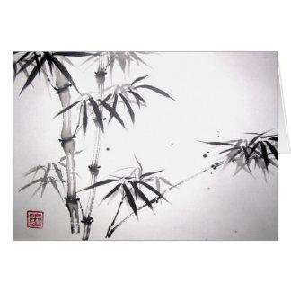 Carte en bambou