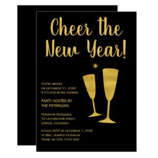 Carte Encouragez l'invitation de célébration de partie