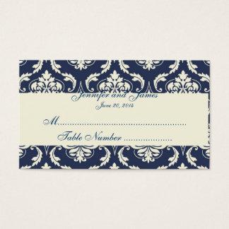 Carte ene ivoire d'endroit de Tableau de mariage