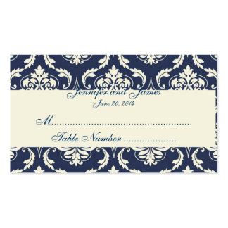 Carte ene ivoire d'endroit de Tableau de mariage d Modèle De Carte De Visite