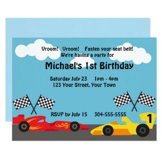 Carte Enfants emballant la fête d'anniversaire