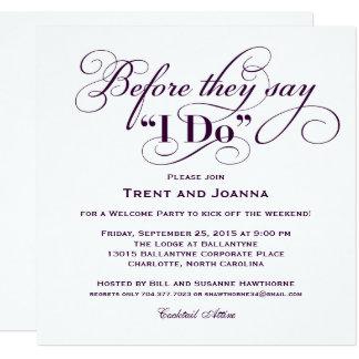 Carte Épouser les voeux de mariage bienvenus de