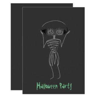 Carte Épouvantail de Halloween