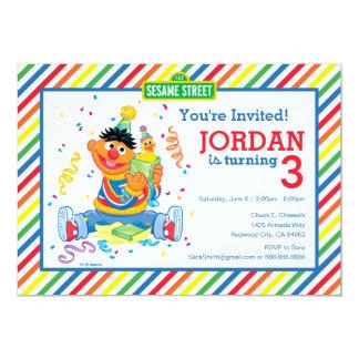 Carte Ernie a barré l'anniversaire