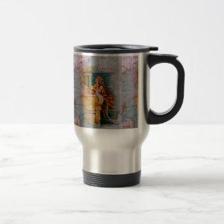 Carte et sirène nautiques antiques mug de voyage