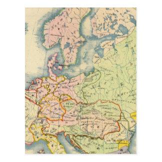 Carte ethnographique de l'Europe