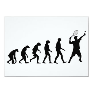 Carte Évolution de tennis