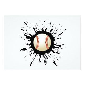 Carte Explosion de base-ball