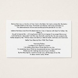 Carte facile de témoin