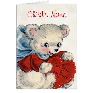 Carte faite sur commande de Valentine pour des