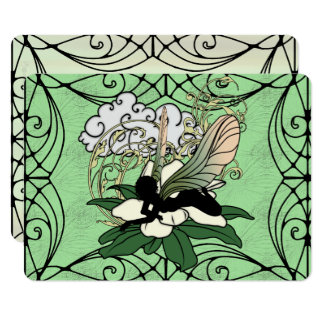Carte Fée d'ombre de magnolia