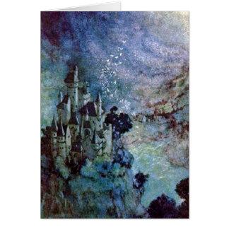 Carte féerique de beaux-arts d'Edmund Dulac de