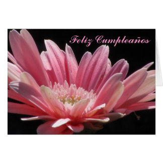 Carte - Feliz Cumpleaños - margarita Rosa