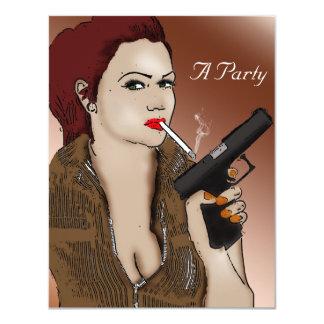 Carte Femme Fatale - tabagisme et armes à feu