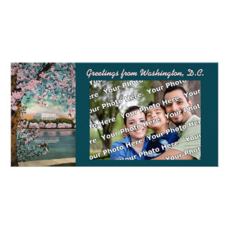 Carte Fleurs de cerisier Photocard