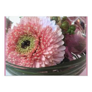 Carte florale dahlia