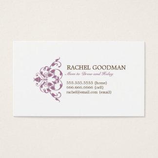 Carte florale moderne de maman/télécarte
