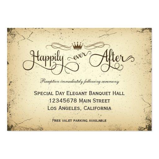 Carte formelle de réception de mariage d'intrigue modèle de carte de visite