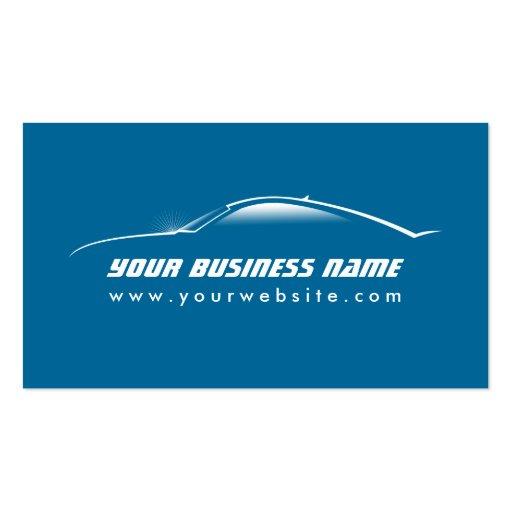 Carte fraîche de commerce de l'automobile d'ensemb cartes de visite professionnelles