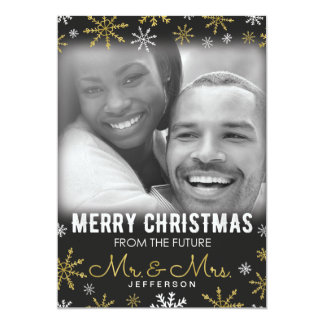 Carte Futurs M. et Mme Christmas Holiday