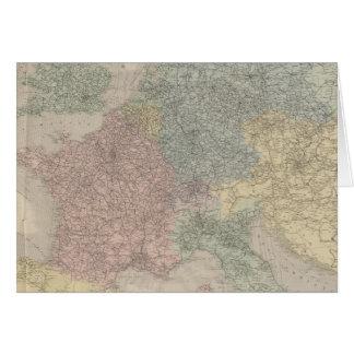Carte générale des chemins de fer européens