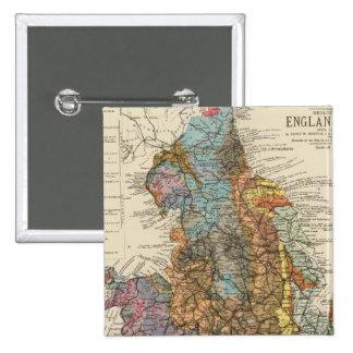 Carte géologique Angleterre, Pays de Galles Pin's