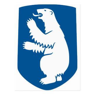Carte GL de drapeau du Groenland