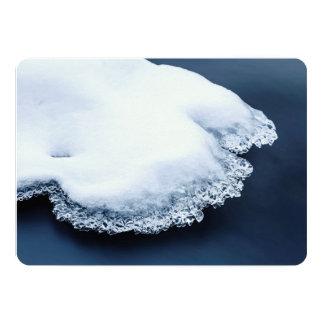 Carte Glace, neige et eau mobile
