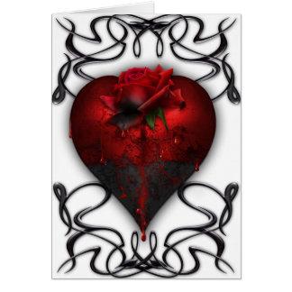 Carte gothique de Valentine