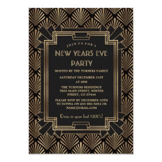 Carte Grande partie de nouvelle année de Gatsby des