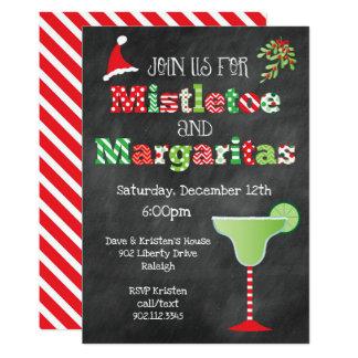 Carte Gui et fête de Noël de margaritas