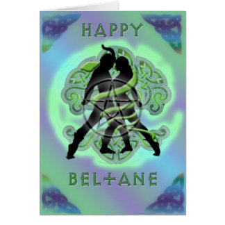 Carte heureuse de Beltane